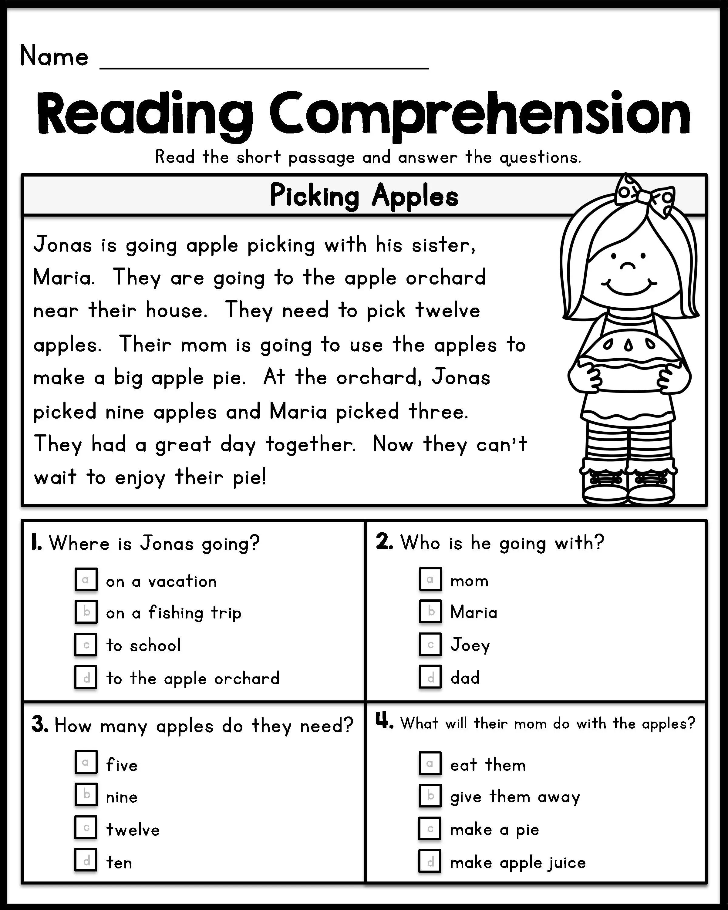 12 Good Examples Of 1st Grade Worksheets Free Download ...