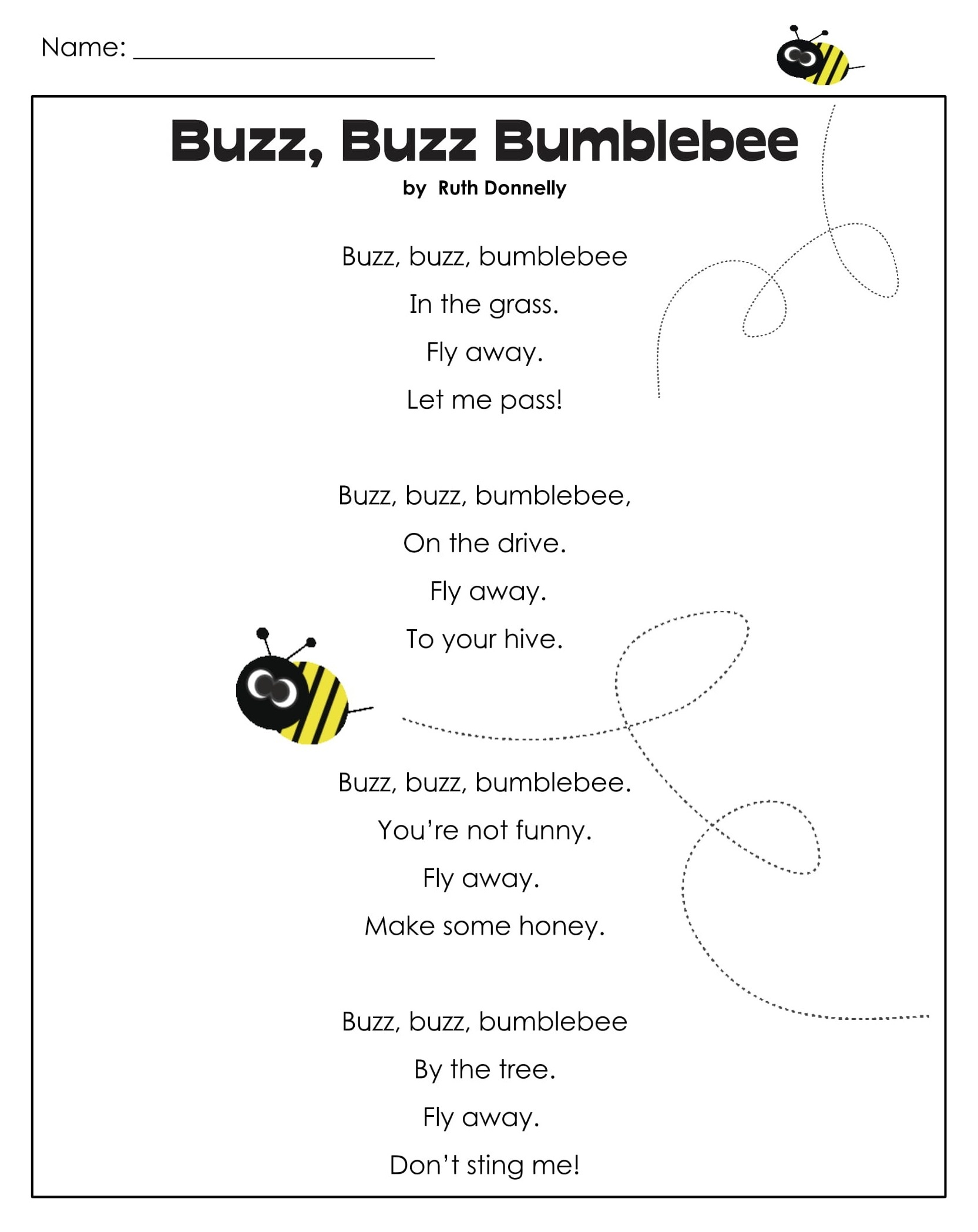 Bumblebee 1st Grade Reading Games 1