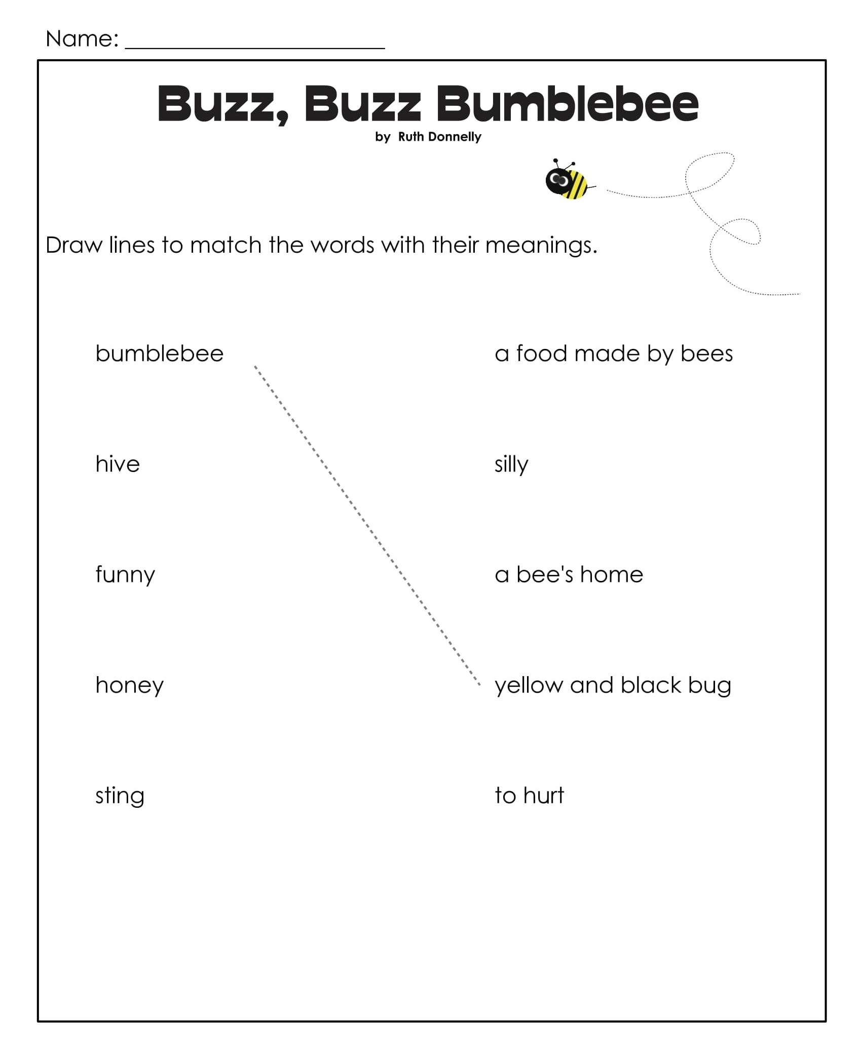Bumblebee 1st Grade Reading Games 3