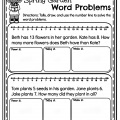 First Grade Word Problems Worksheets