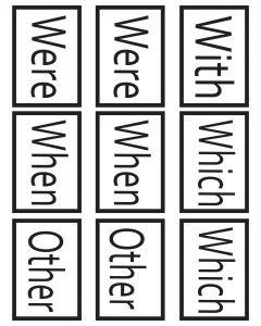 1st Grade Sight Words Go Fish 2