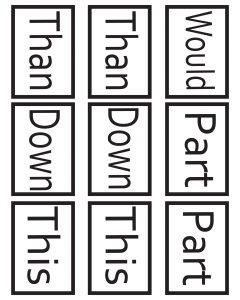1st Grade Sight Words Go Fish 4