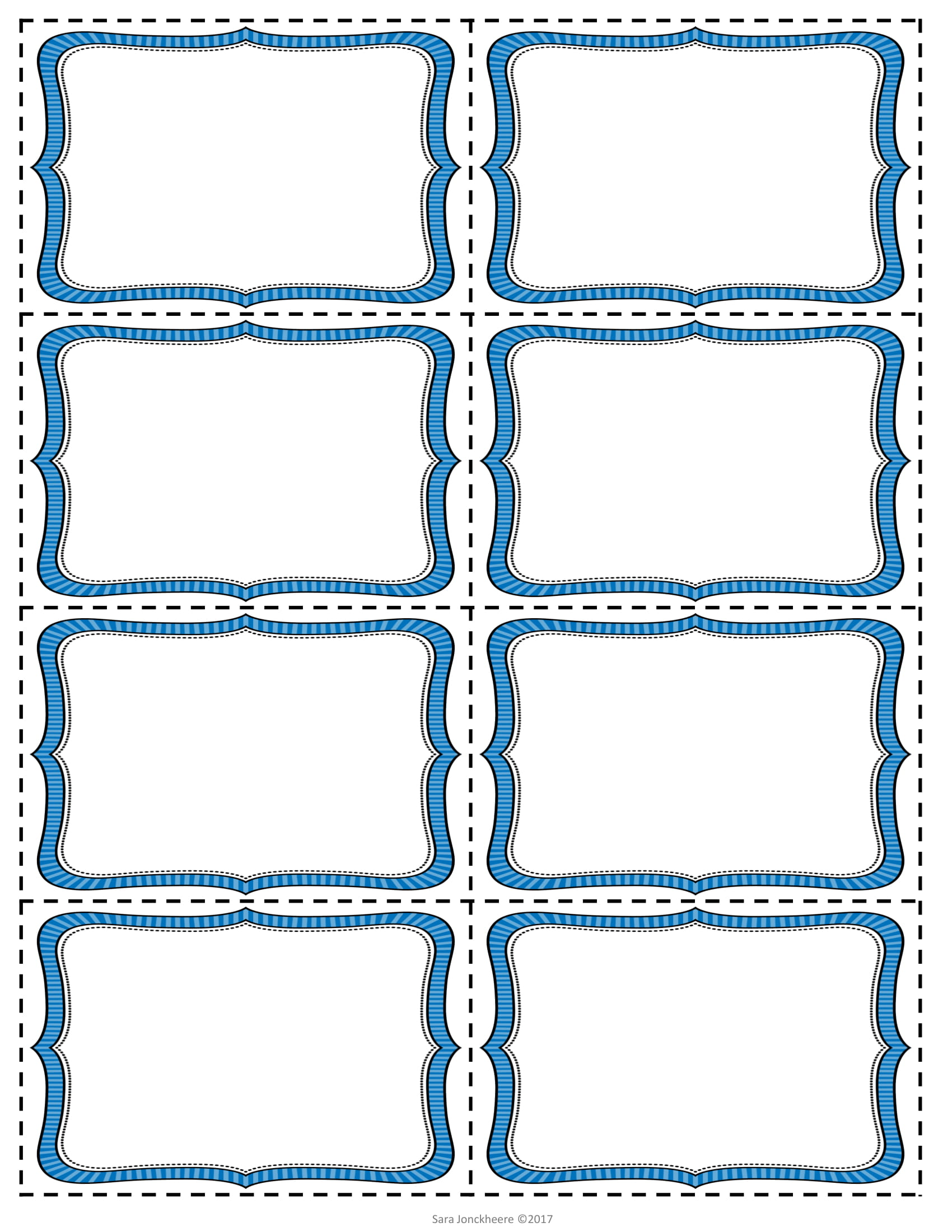 Editable Sight Word Cards 06