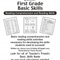Scholastic 1st Grade Reading Comprehension Skills Worksheets-01