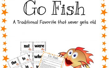 Sight Words Go Fish 01