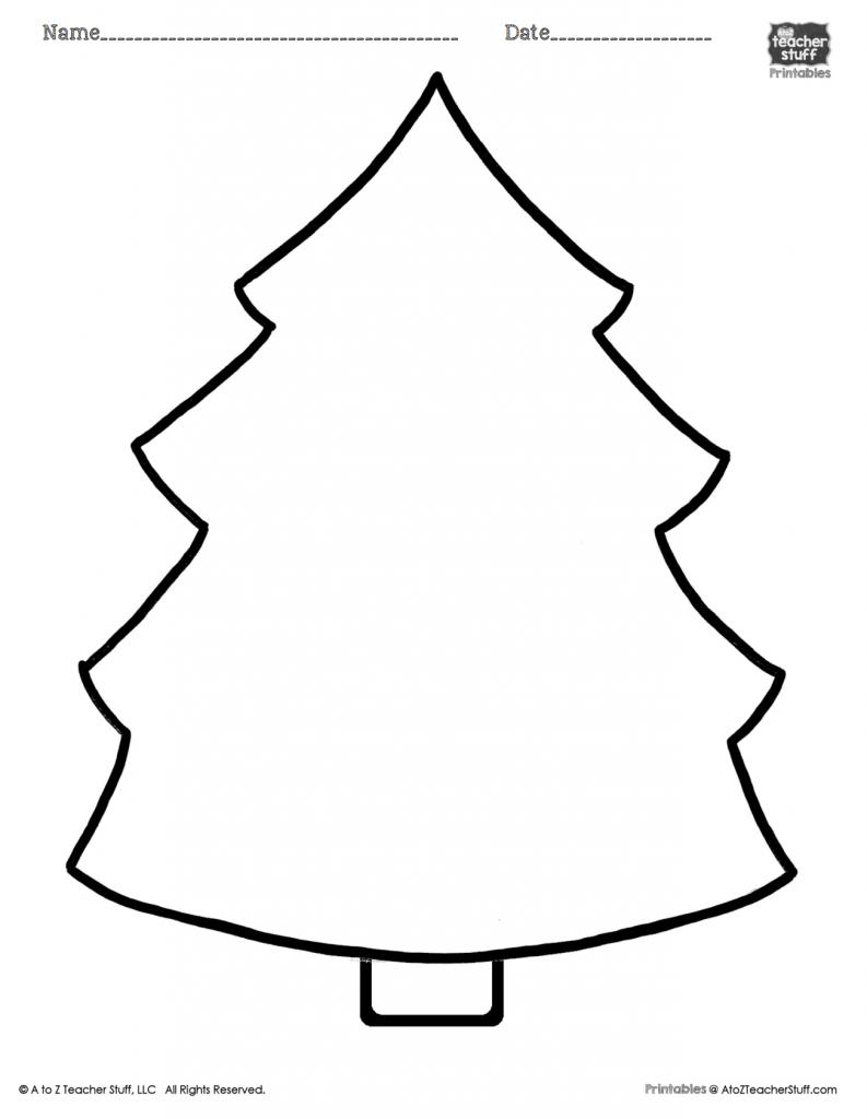 Christmas Tree Printable Page