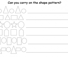 Pattern Shape
