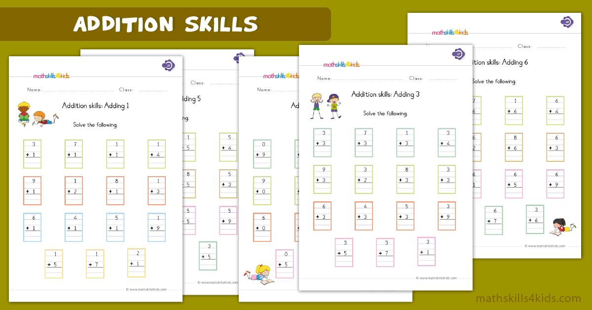 Digit Addition Worksheets For Grade