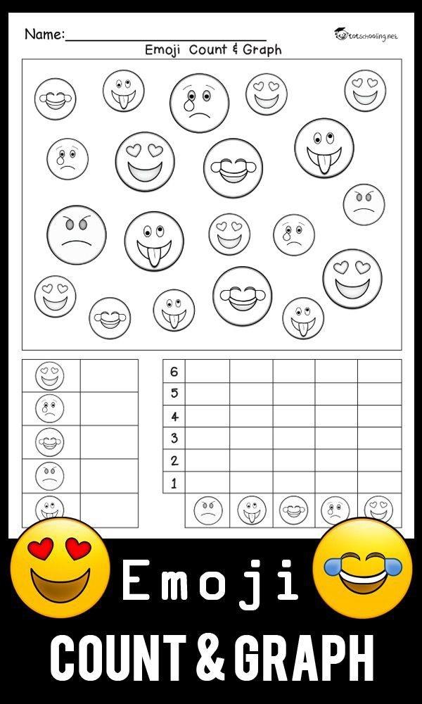 Emoji Count   Graph Worksheet