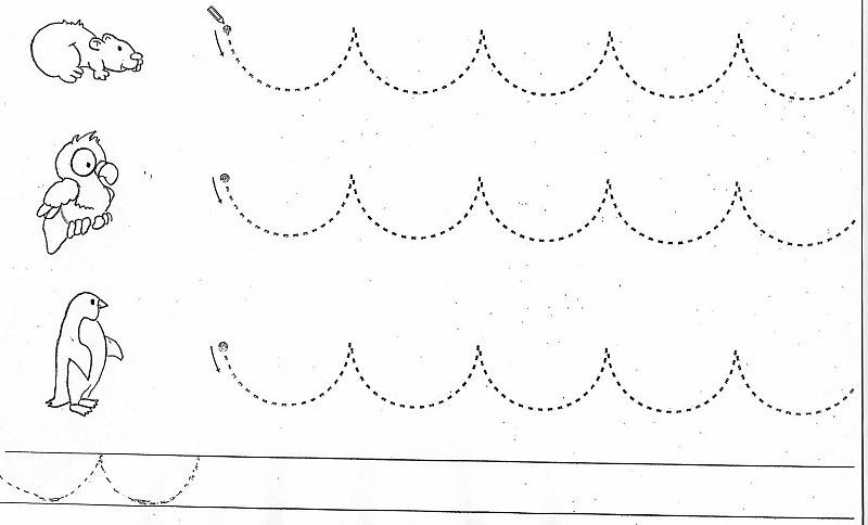 Image Result For Curved Line Tracing Pattern