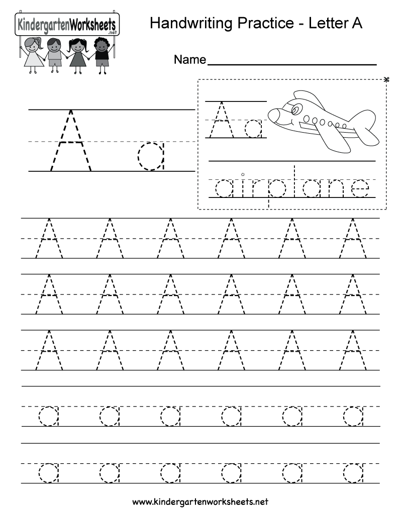 Kindergarten Practice Sheets Worksheets Worksheet Hero - 45+ Kindergarten Practice Worksheets Images