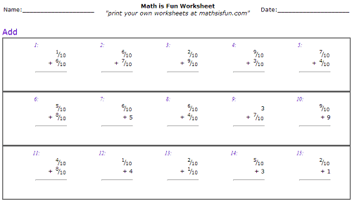 Math Resources For Th Grade