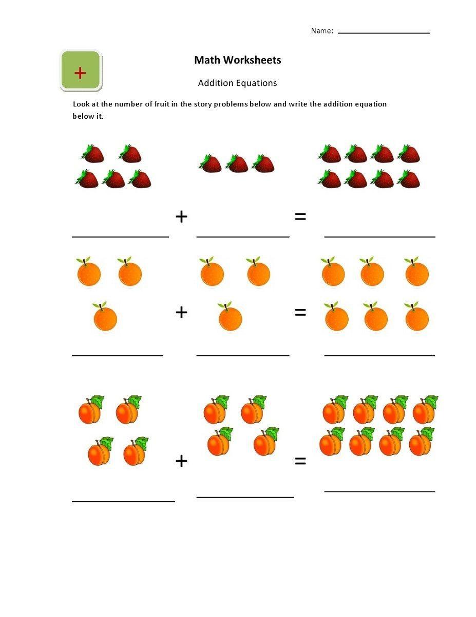 Online Worksheets For Kindergarten