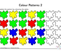 Pattern To Colour