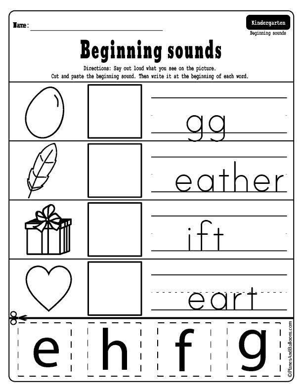 Pin On Kindergarten Worksheets Free Printables