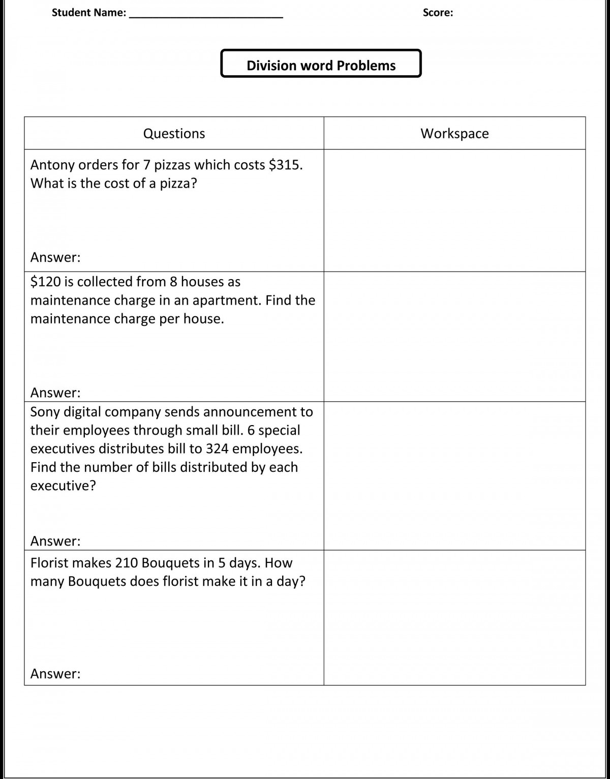 Printables Free Integer Word Problems Worksheet Integer Word