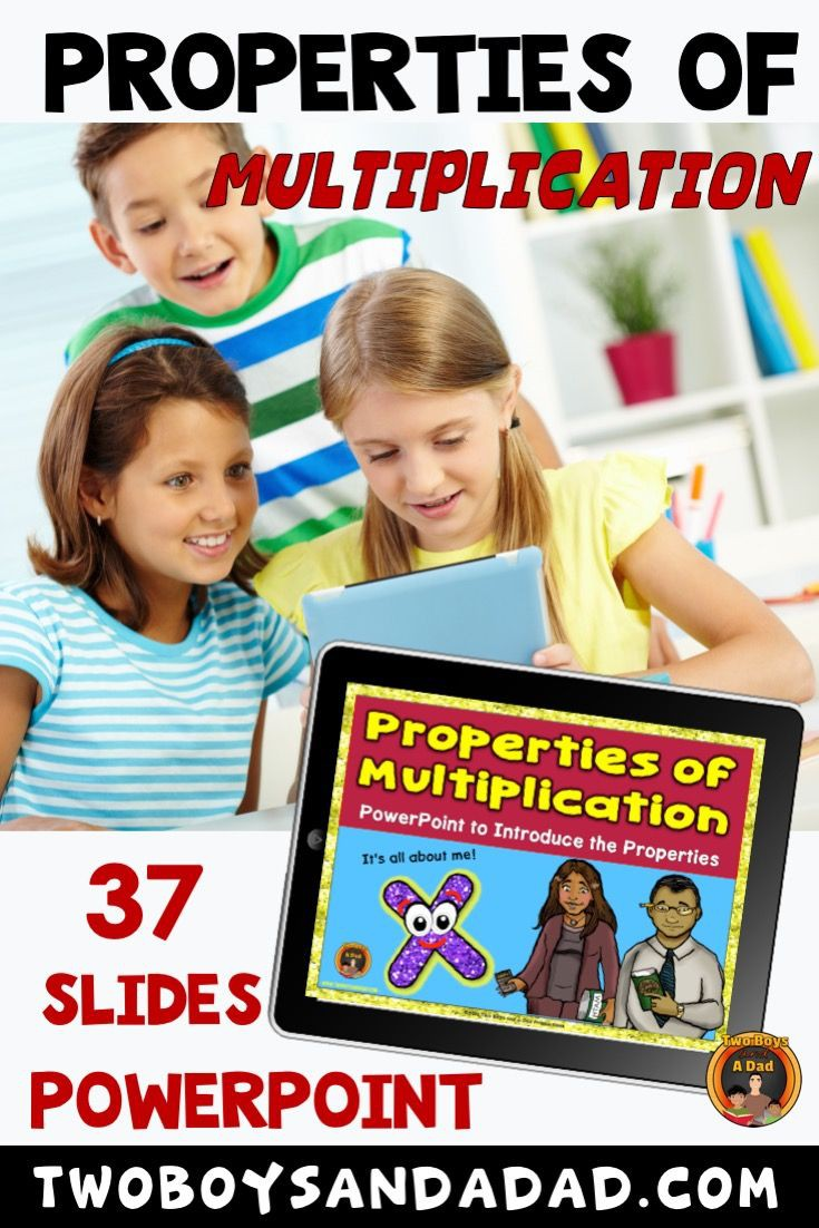 Properties Of Multiplication Powerpoint Lesson And Worksheets