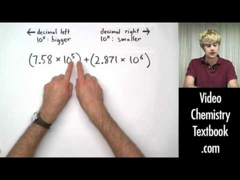 Scientific Notation Addition And Subtraction