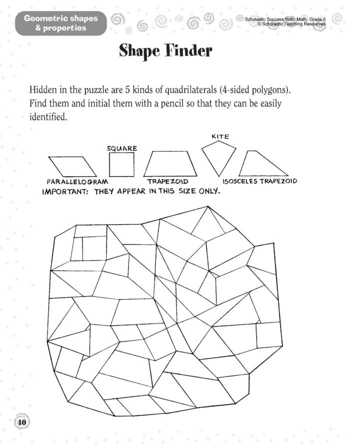St Grade Shapes Worksheet Printable Worksheets And Activities