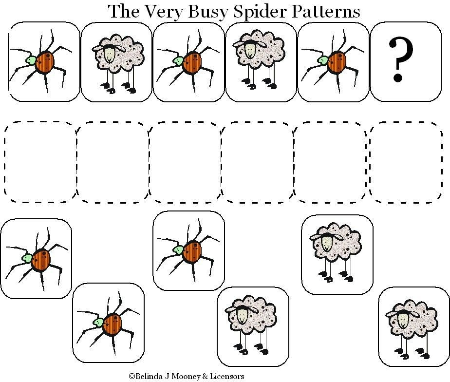 Very Busy Spider Pattern