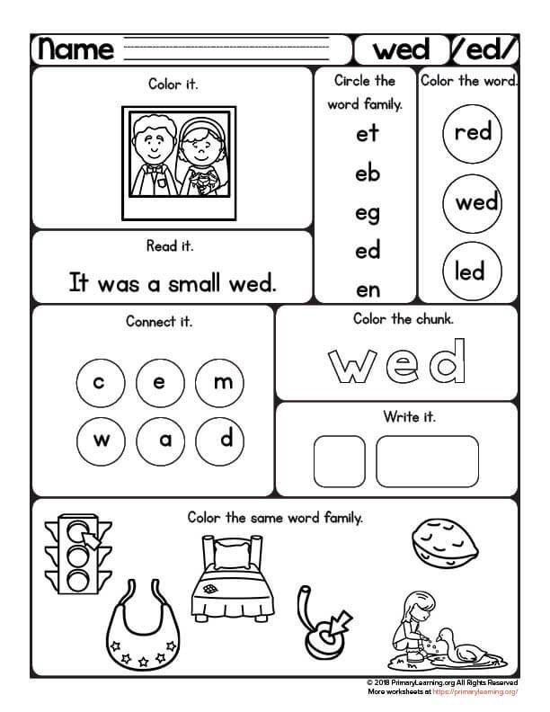 Wed Worksheet