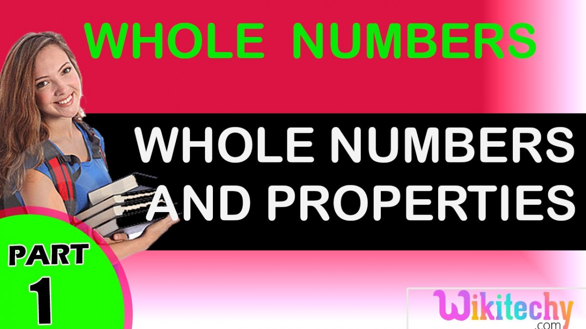 Whole Numbers And Properties Maths Class        Tricks