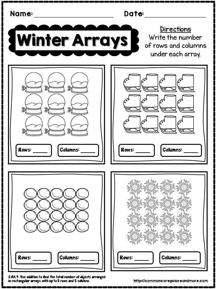 Winter No Prep Math