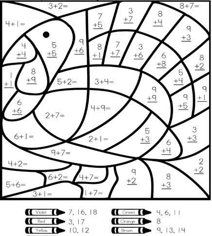 Download Or Print This Amazing Coloring Page Free Math Coloring