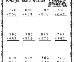 Easter Addition And Subtraction