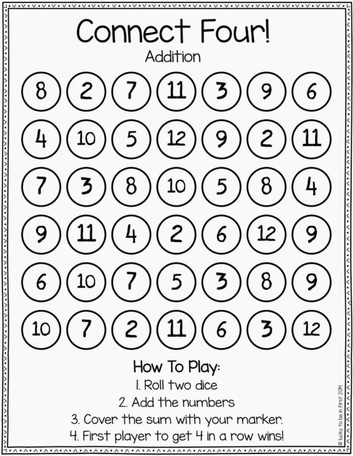 Games To Strengthen Math Skills Second Grade Build Skip Counting