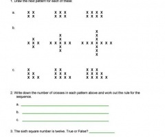 Pattern And Sequence