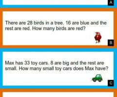 Maths Word Problems For 2nd Grade Addition And Subtraction
