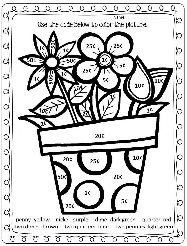 Phenomenal Addition Coloring Worksheets  Azspring