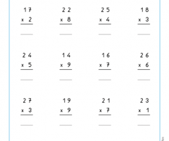 Addition Algorithm Examples