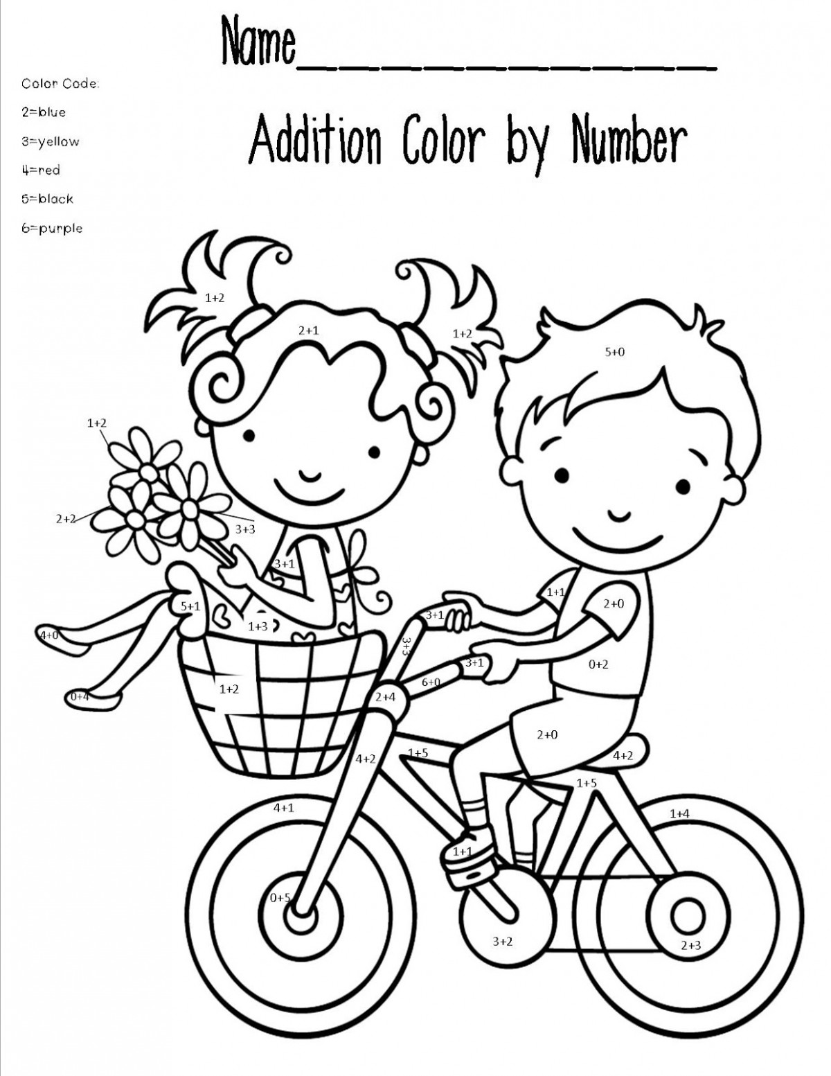 Subtraction Worksheets Free Coloring Pages Of Truck Colour Number