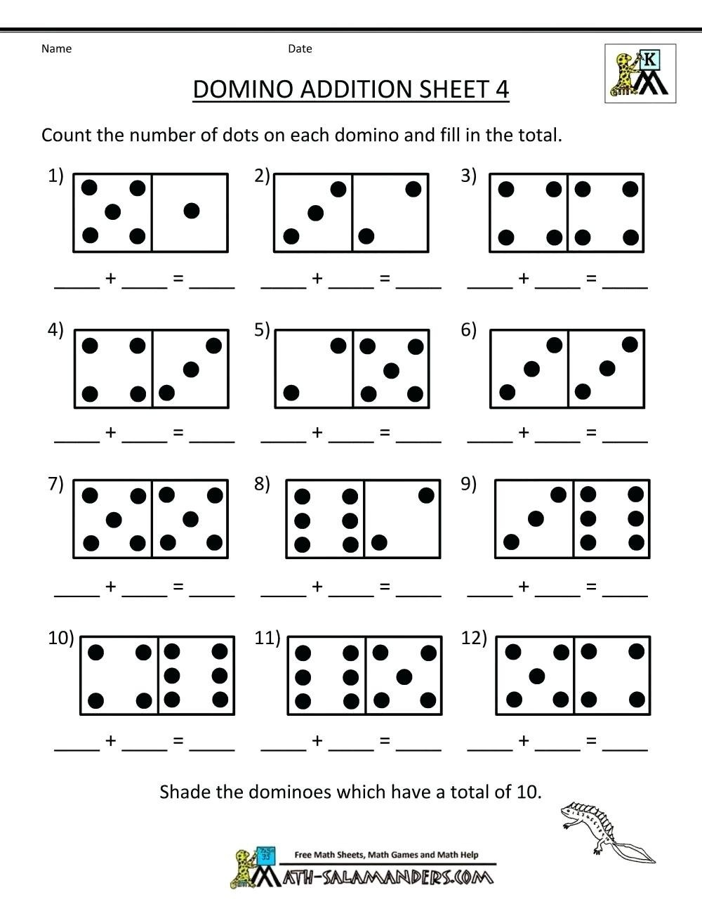 Worksheet  Math Addition Games For First Grade Free Printable